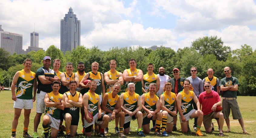 Kookaburras Past Players Game