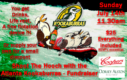 Atlanta Kookaburras Social Events